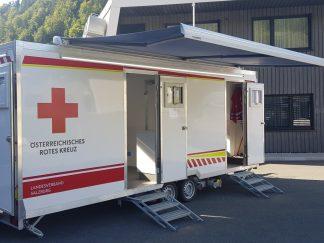 Rettungs- und Hilfsorganisationsanhänger